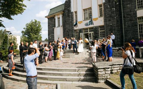 18.08.2018 в Таллинне вступили в брак 33 пары.