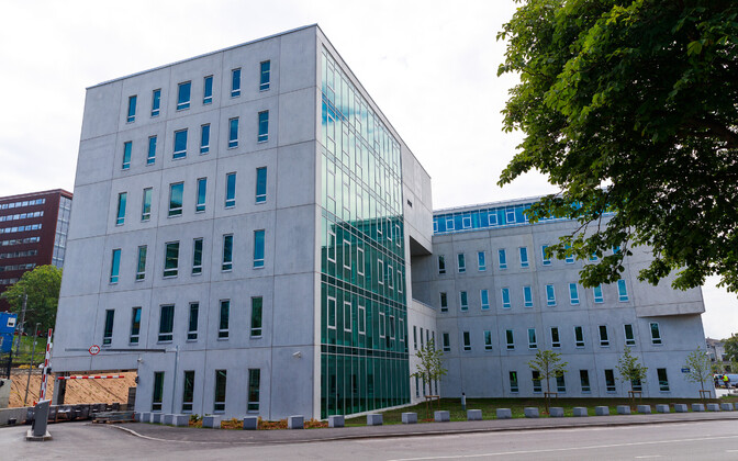 The newly completed Harju County Courthouse.