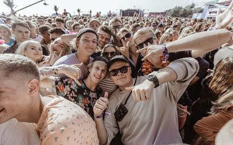 Публика на фестивале Weekend.