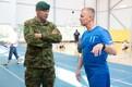 Saaremaal Orissaares kaitseväe vigastatud veteranide treeninglaager.
