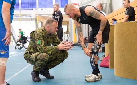 Ветераны готовились к играм Непобежденных