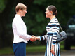 Кронпринцесса Швеции Виктория встретилась в Кадриорге с президентом Эстонии Керсти Кальюлайд..
