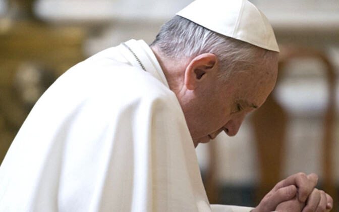 Paavst Franciscus.