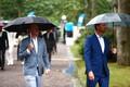 Президентский прием в Розовом саду Кадриорга.