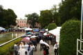 Guests at the President of Estonia's 2018 Rose Garden reception.