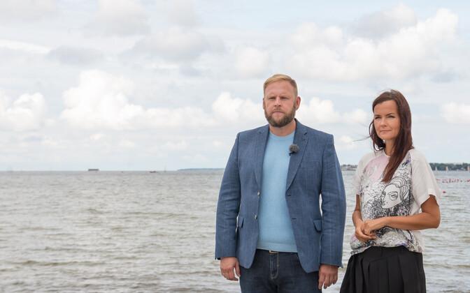 Peolaud mööda piiri - saatejuhid Katrin Viirpalu ja Urmas Vaino