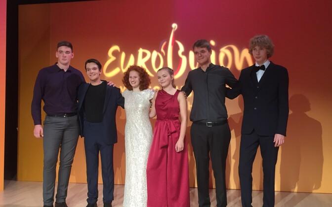 Klassika-Eurovisioon 2018 finalistid.