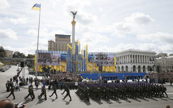 Ukraina iseseisvuspäeva paraad 2017. aasta 24. augustil.