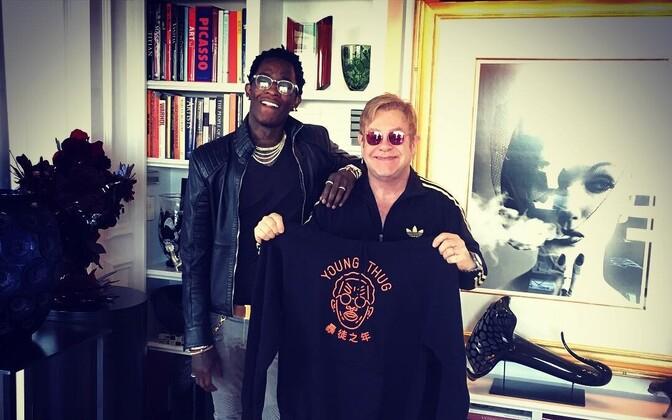 Young Thug ja Elton John 2016. aasta märtsis.