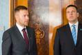 Rene Tammist ja  Jüri Ratas