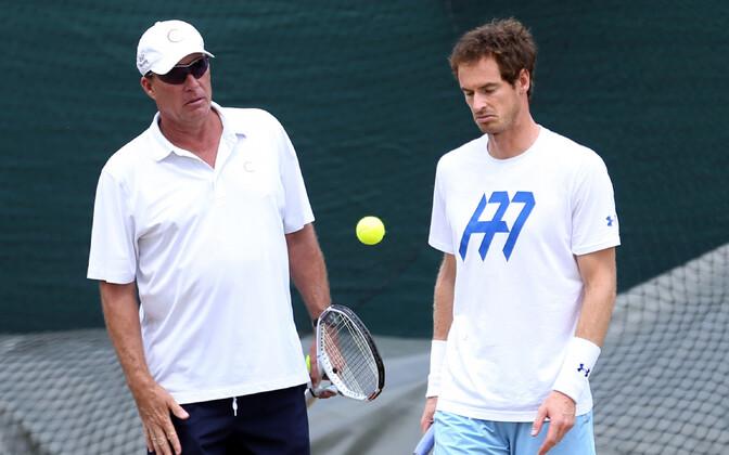 Ivan Lendl enda eelmise hoolealuse Andy Murrayga.