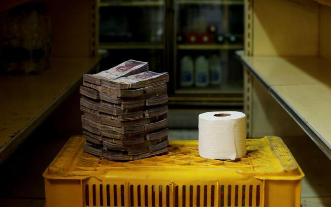 Venezuela hinnad enne rahareformi.