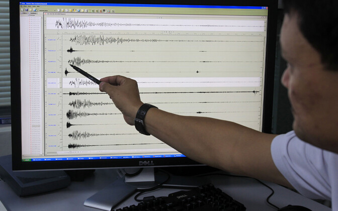 Seismograaf.