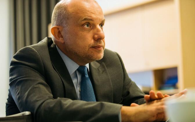 Minister of Defence Jüri Luik (Pro Patria).