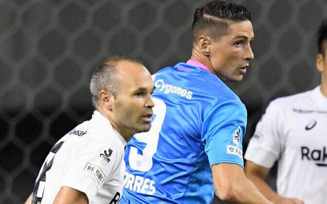 Andres Iniesta ja Fernando Torres