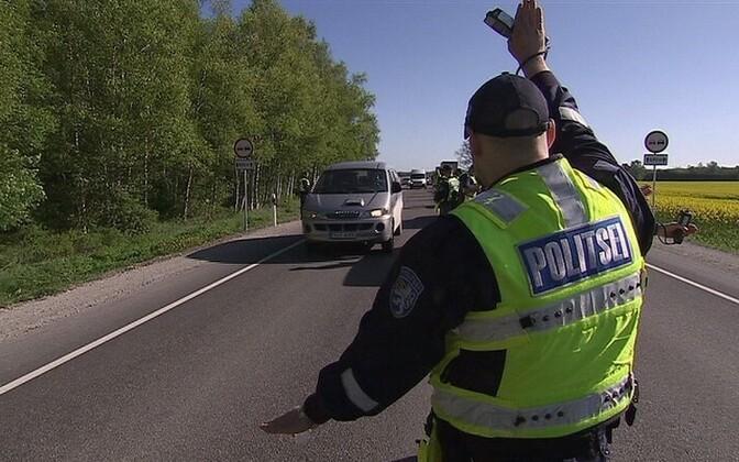 Нарушитель был задержан в ходе полицейского рейда.