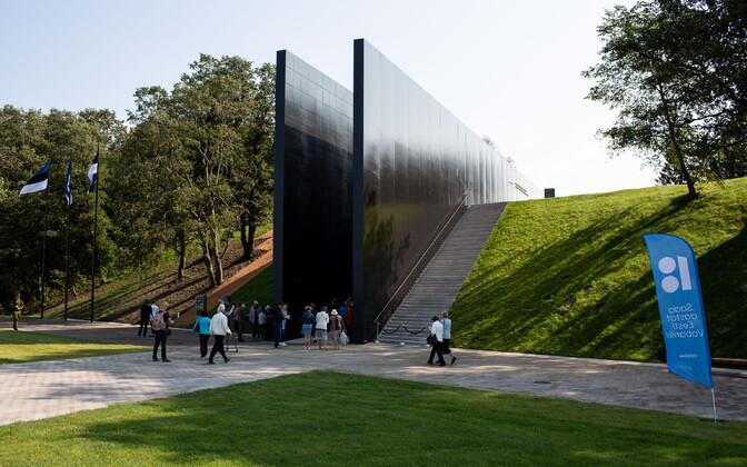Kommunismiohvrite memoriaali avamine