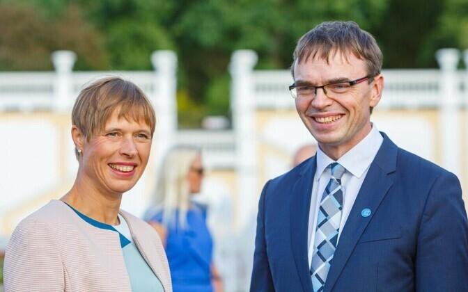 Kersti Kaljulaid ja Sven Mikser
