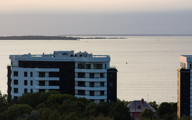 Apartments with a sea view in Tallinn.