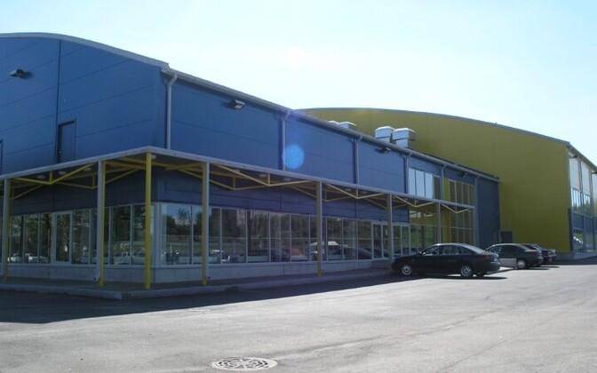 Спортивный центр на улице Раквере временно закрыт.