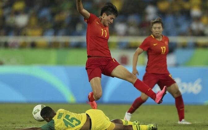 Wang Shanshan Rio olümpiamängudel