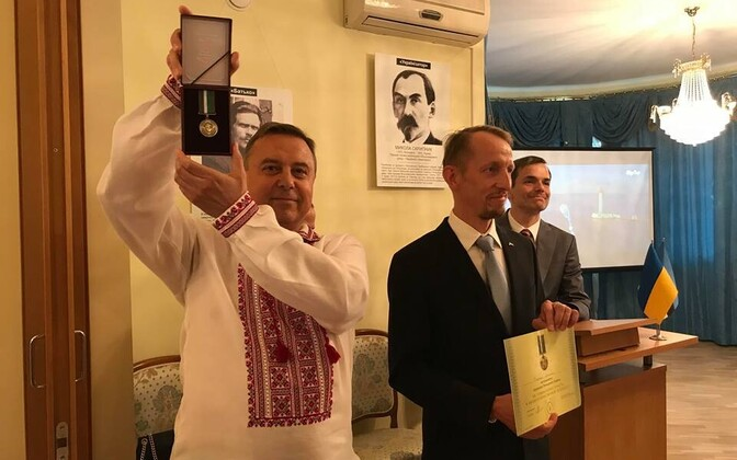В Посольстве Украины в Эстонии отметили День независимости Украины.