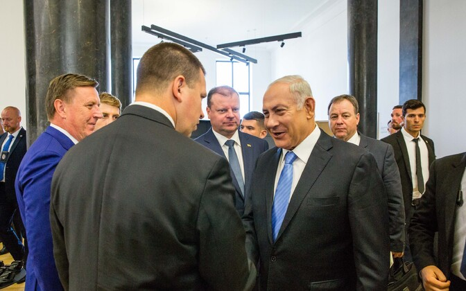 Встреча премьер министров стран Балтии и Израиля.
