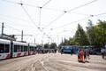 День трамваев в депо Копли.
