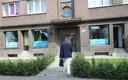 Andres Herkel Vabaerakonna kontorisse sisenemas.