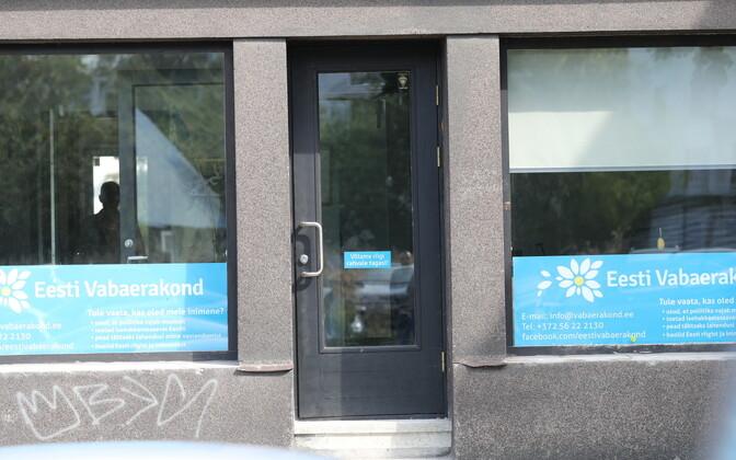Штаб-квартира Свободной партии в Таллинне.