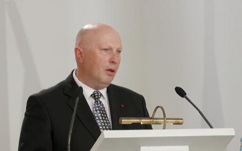 Tõnu Lehtsaare kõne inauguratsioonil.
