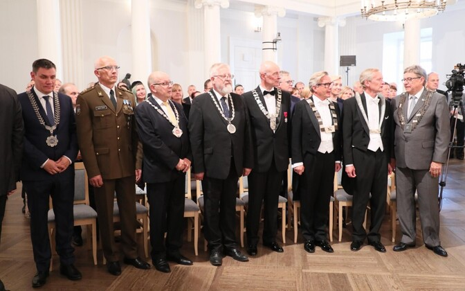 Rectors of several Estonian universities and institutes of higher education.