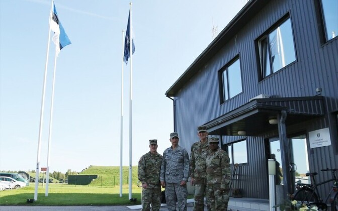 Maryland National Guard (MDNG) delegation visiting Estonia this week. August 2018.
