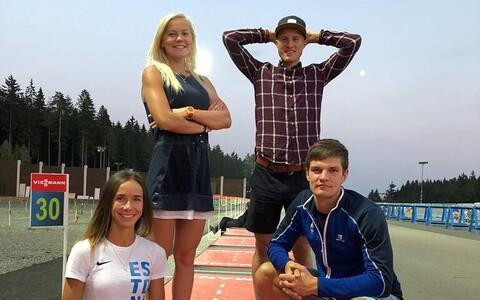 Grete Gaim, Meril Beilmann, Rene Zahkna ja Mart Vsivtsev