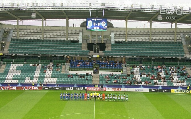 Tallinna FC Flora ja Tartu JK Tammeka kohtumine
