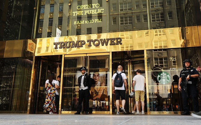 Trump Tower New Yorgis.