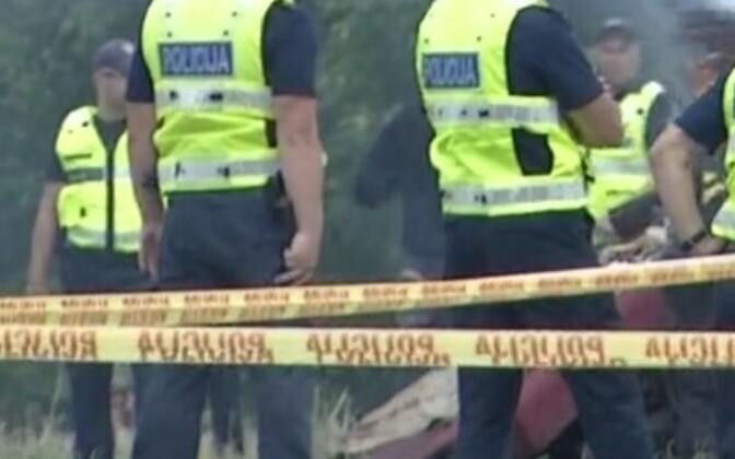 Läti politsei harjutas linnarahutuste mahasurumist.