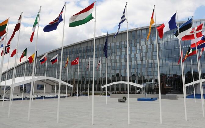 Штаб-квартира НАТО в Брюсселе.