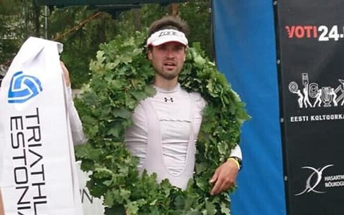 Triathlon Estonia võitja Tuomas Talula