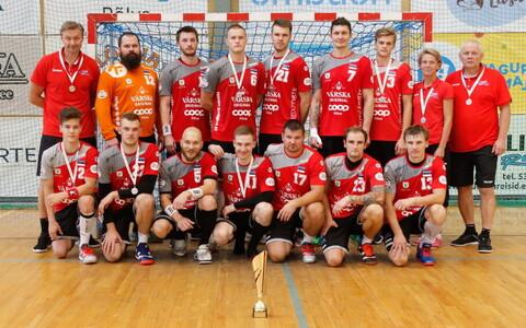 Põlva Cupi teise kohaga lõpetanud Põlva Serviti meeskond
