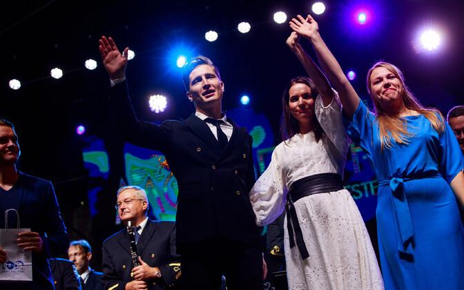 Politsei- ja piirivalveorkester lõpetas kontserdituuri Tallinnas.