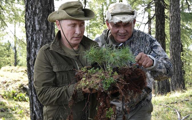 Vladimir Putini puhkusereis Tõva Vabariigis 2018. aasta augustis.