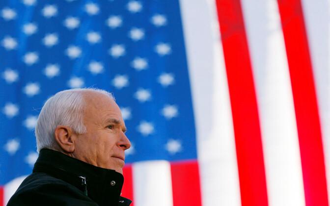 John McCain 2008. aasta oktoobris.