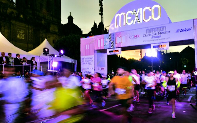 Mexico maratoni start