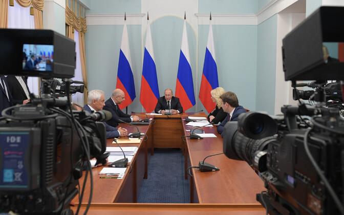 President Vladimir Putin 28. augustil Omskis.