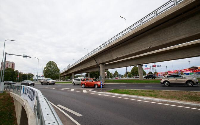 Открытие транспортной развязки в Хааберсти.