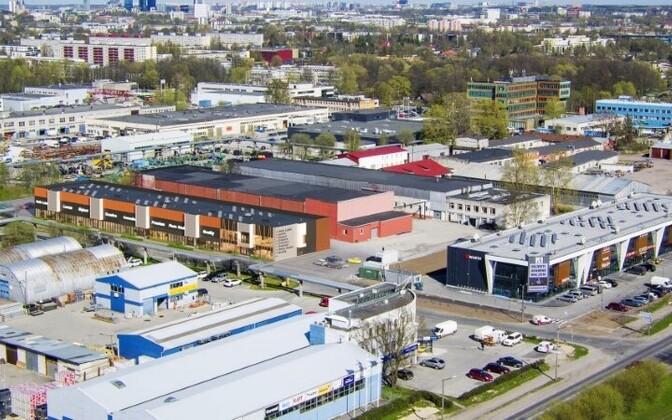 В Ласнамяэ развивают и коммерческую недвижимость.