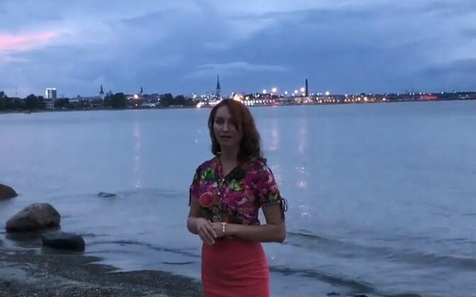 Атташе посольства России в Эстонии Ирина Близнец.