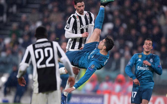 Cristiano Ronaldo värav Juventuse vastu