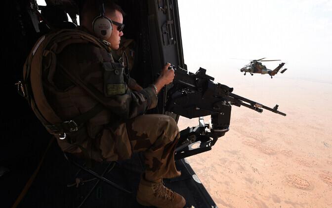 Prantsuse relvajõud Malis operatsioonil Barkhane, arhiivifoto.
